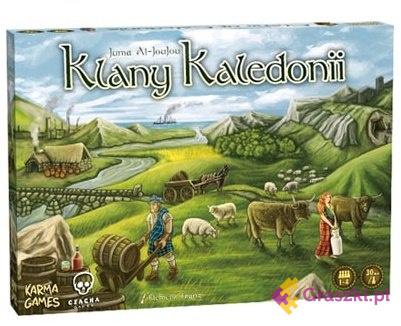 Klany Kaledonii (darmowa dostawa) | Czacha Games
